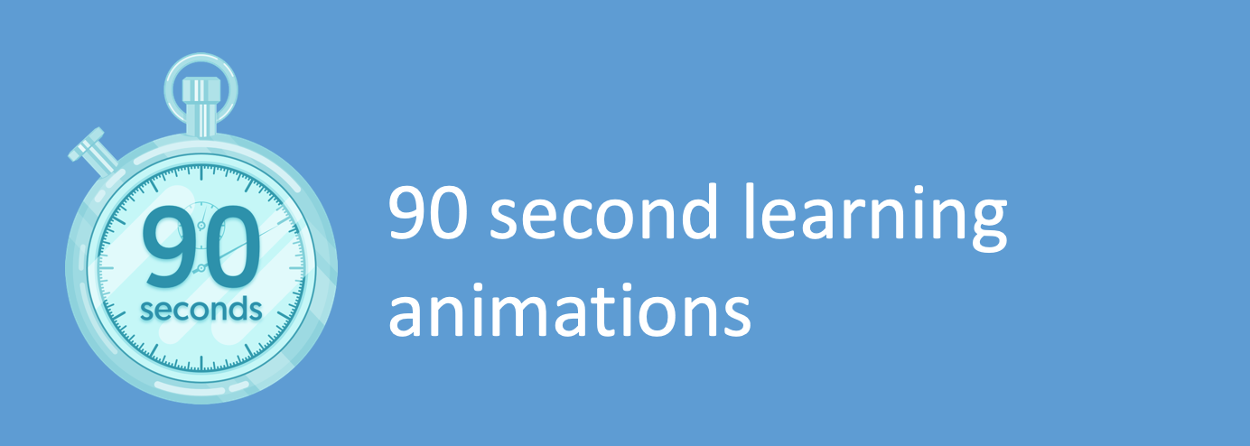 What can you learn in 90 seconds?