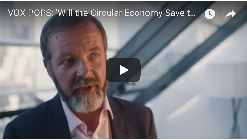VOX POPS: 'Will the Circular Economy Save the Planet?'